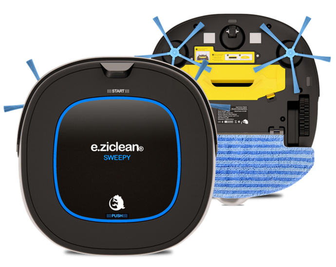 e.ziclean SWEEPY Hybrid Cleaning Robots