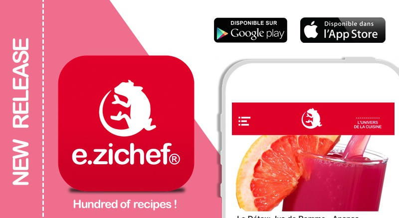 e.zichef recipes App.