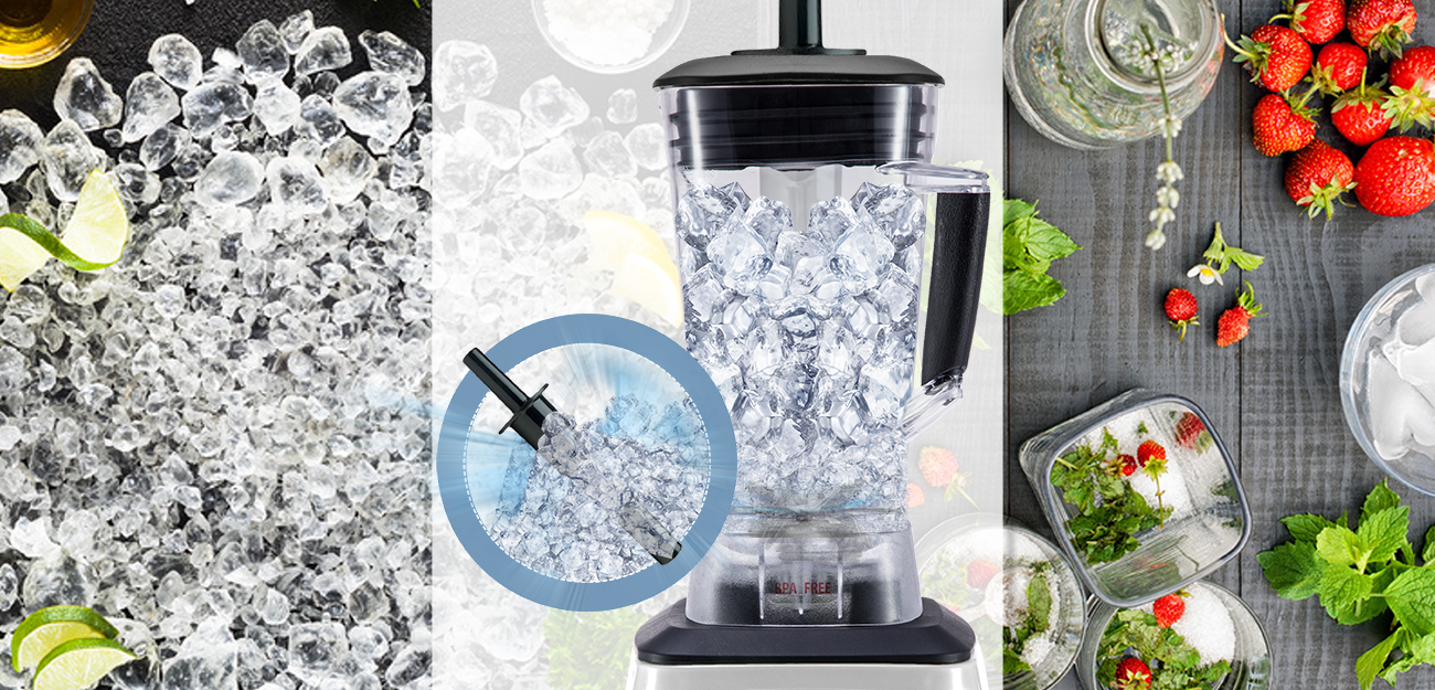 e.zichef BLENDER Pile glace