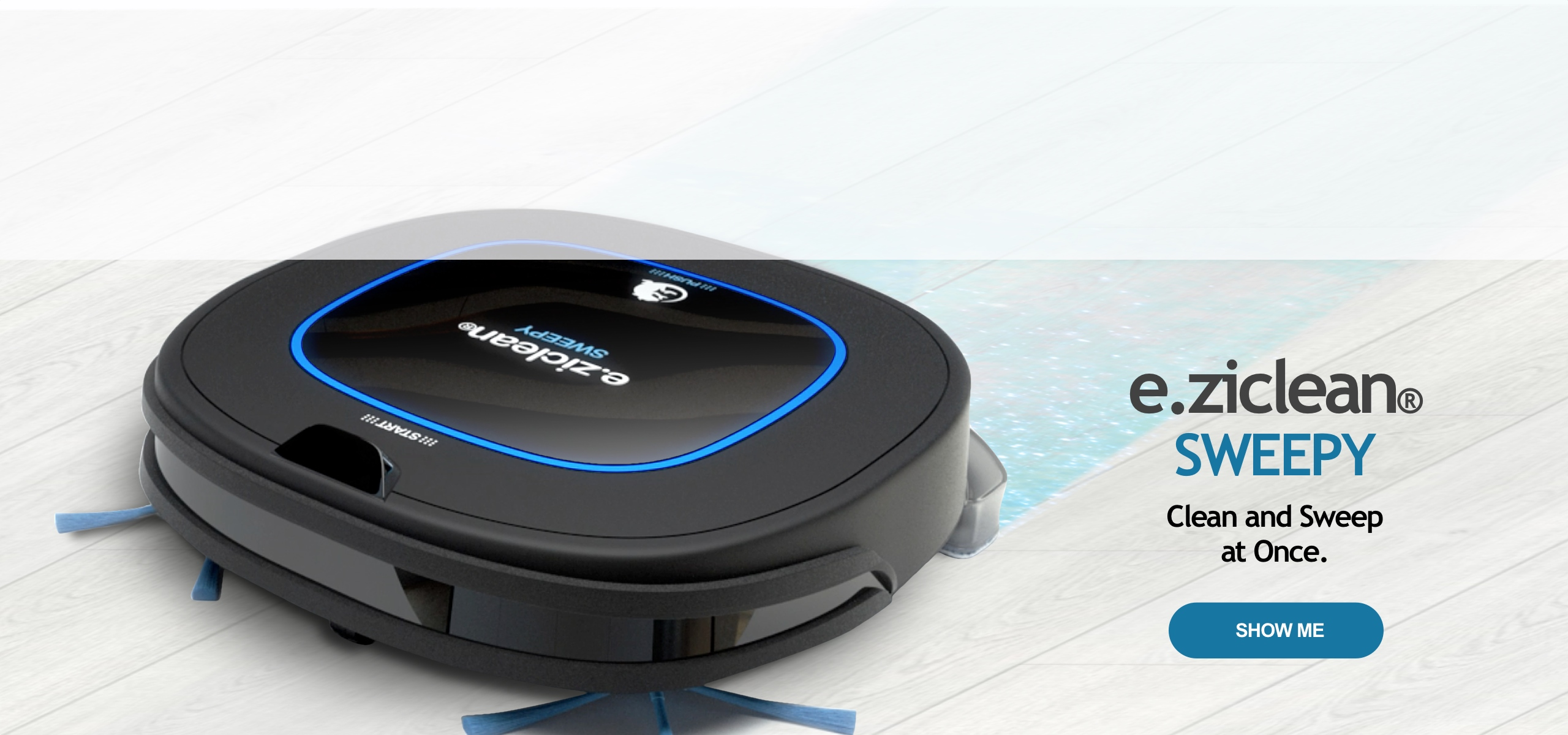 e.ziclean SWEEPY Hybrid Cleaning Robot